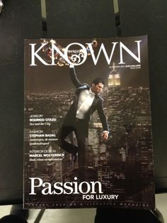 ON THE COVER ( ME) RODRIGO  TALKING ABOUT LUXURY / PASSION AND HIS NEW BRANDS