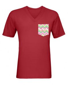 Frocket V-Neck Tee - American Apparel $24.00 Many other colors and frockets available!