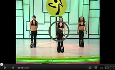 Daily 1-hour Zumba workouts posted online! Keep mixing it up to keep working out fun!