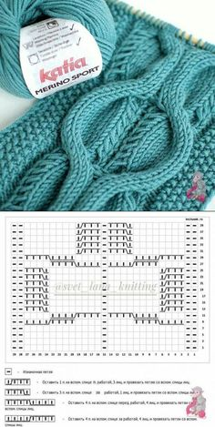 Best Totally Free knitting charts cable Tips УЗОРЫ СПИЦАМИ – Cable Knitting Patterns, Knitting Stiches, Knitting Charts, Lace Knitting, Knitting Designs, Knit Patterns, Stitch Patterns, Crochet Baby Poncho, Knit Crochet