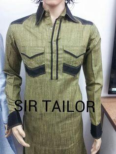 mens pathani designer and elegant look from SIR TAILOR. (chauta pull near sai belt behind  bus stop surat 395003). Mr. Amin +918238209128