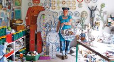 Meet Cleo Mussi, Project Space artist featured at this years COLLECT festival at Saatchi Gallery in May. Embellished mosaics given a vibrant, humorous twist. Mosaic Wall Art, Mosaic Diy, Mosaic Crafts, Mosaic Glass, Mosaic Ideas, Mosaic Garden, Mosaic Designs, Garden Art, Mosaic Madness