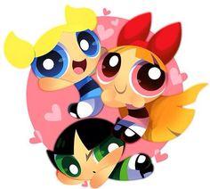 Cartoon Network Powerpuff Girls, Powerpuff Girls Cartoon, Powerpuff Girls Wallpaper, Dope Cartoons, Dope Cartoon Art, Girl Wallpaper, Disney Wallpaper, Ppg And Rrb, Girls Rules