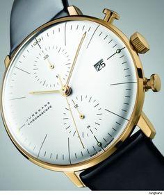 Fancy | Junghans Max Bill Gold Chronoscope Anniversary Watch