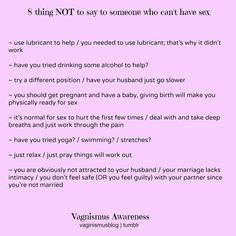 Sex positions to reduce vaginismus