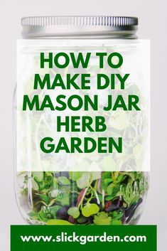 Fill your potting soil in your mason jars and sprinkle the seeds pf herbs on the soil. Mason Jars, Mason Jar Herbs, Mason Jar Herb Garden, Diy Herb Garden, Mason Jar Succulents, Mason Jar Terrarium, Simple Garden Designs, Cottage Garden Design, Herbs Indoors