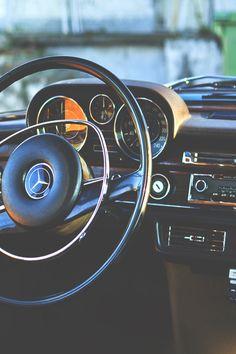 Vintage Benz, usually temperamental...