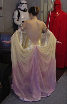 Ombre dying for parachute dress (Padme Amidala from Star Wars) Star Wars  Costumes 2625846be