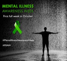 Mental Illness Awareness Week, National Depression Screening Day, and World Mental Health Day take place each year in October. Mental Health Day, Mental Health Conditions, Mental Health Issues, Depression Awareness Month, Mental Illness Awareness Week, Social Stigma, Doctors Note, Stress Disorders, Drink Recipes