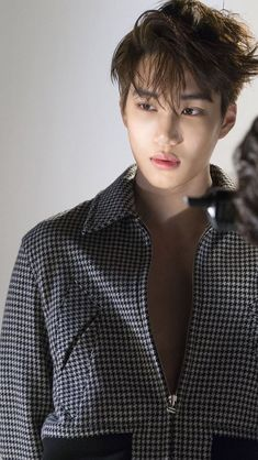 \bts jin\ kai exo\ ~ Kaisoo, Kyungsoo, Chanyeol, Bts And Exo, Exo Kai, Bts Jin, Rapper, Dancing King, Photoshoot Pics