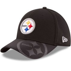 Pittsburgh Steelers Era 39thirty NFL on Field Sidelines S m Fitted Cap Hat   cf4668c71