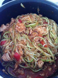 RECETA ITALIANA FITNESS/ Espagueti bajos en hidratos de carbono - Fitfoodmarket