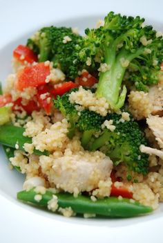 Sesame Chicken Couscous Salad - 65 mg of sodium per serving.