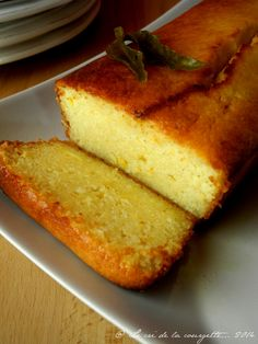 Gâteau maïs citron verveine -_06
