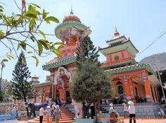 Chau Doc Tay An Pagoda - Vietnam.