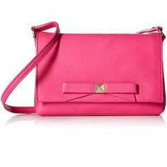 "Authentic kate spade carah leather crossbody bag Authentic Kate spade light carah mini leather crossbody brag in peony pink. 14k light gold polished hardware. Flap top closure with magnetic catch. Lined interior with inner slip pocket. Cross body strap is 21"". Bag measures 7.5""l 5""h 1""d kate spade Bags Crossbody Bags"