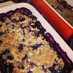 Dukan Diet Recipe Cherry And Blueberry Crisps