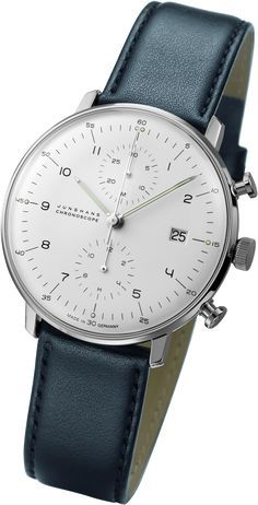 721f5e8638d Junghans Max Bill Chronoscope Automatic Chrono Watch