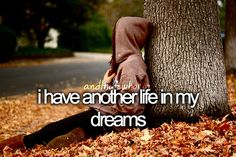 i have another life in my dreams