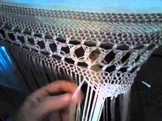 MANTONES TERE FLAMENCA flecos manton pinita - YouTube Embroidery Patterns, Crochet Patterns, Flamenco Costume, Diy Tassel, Macrame Tutorial, Lace Making, Hippie Boho, Knots, Shawl