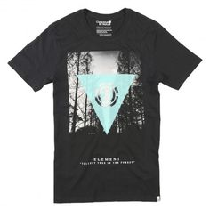 Element Tallest Tree SS tee-shirt black turquoise - off white red 35€ #element…