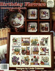 Gallery.ru / Birthday Flowers - Birthday Flowers - embroidery