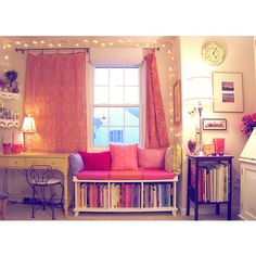 Tumblr Rooms With Lights | rooms # room decor # romantic rooms