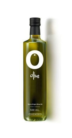I love the simplicity of this logo utilizing the negative shape of the O center to create an olive. The deep green color created by the bottle and oil emphasizes the olive and makes it stand out from the letter O. A unique typeface adds to the modern logo.