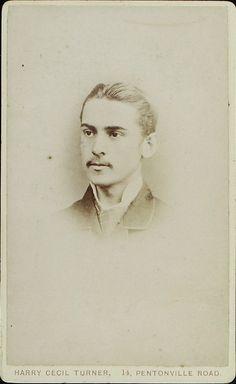 www.pastonpaper.com | Carte De Visite of Albert Morton Lambon, 1883 Facial Hair, Old Photos, Art, Old Pictures, Art Background, Face Hair, Vintage Photos, Kunst, Performing Arts