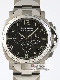 パネライ ルミノール スーパーコピークロノ PAM00072 40mm ブラック