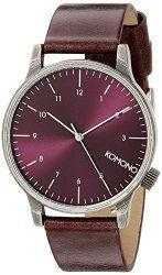 KOMONO Unisex KOM-W2252 Winston Regal Series Analog Display Japanese Quartz Purple Watch