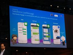 Salesforce LiveMessage will let service reps talk with customers on Messenger Line SMS WeChat