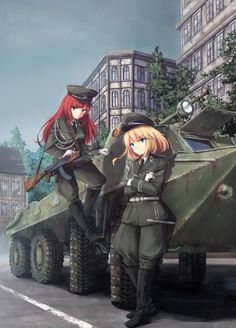 For all kinds of moe art. Especially cute anime girls and boys being cute. Content from anime, manga,. Anime Military, Military Girl, Military Jacket, East German Flag, Kawaii, Character Art, Character Design, Tanya The Evil, Warrior Girl