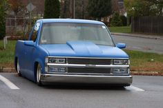 Bagged Chevy Truck