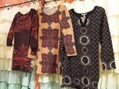 Love these sweater dresses.  So versatile!  At Mango