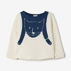 PRINTED CAT SWEATER - Steven Alan