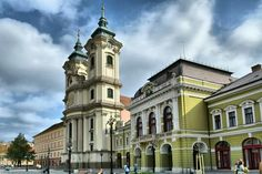 Minorita templom - Városháza