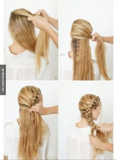 Different Braids Tutorials Braids - a relatively new word among modern stylish hairstyles. Salons offer customers not only variations on the theme a l. , 45 Cute Different Braids Tutorials That Are Perfect For Any Occasion Braided Hairstyles Tutorials, Pretty Hairstyles, Easy Hairstyles, Stylish Hairstyles, Latest Hairstyles, Hairstyle Ideas, Fishtail Braid Hairstyles, Perfect Hairstyle, Wedding Hairstyles Tutorial
