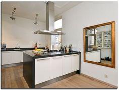 Beste afbeeldingen van een spiegel in de keuken microwave