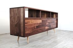 Mid Century Record Storage Console – JeremiahCollection