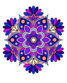 Mandala Art, Mandalas Drawing, Mandala Painting, Flower Mandala, Mandala Design, Zeina, Design Tattoo, Dot Art Painting, Mandala Coloring