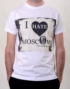 ro is for sale! Moscow, Hate, Mens Tops, T Shirt, Boutique, Fashion, Supreme T Shirt, Moda, Tee Shirt