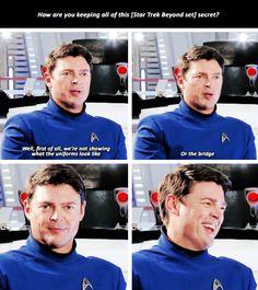 Star Trek Beyond   Behind the scenes - Karl Urban