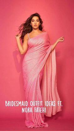 Bollywood Outfits, Bollywood Saree, Bollywood Fashion, Indian Fashion Dresses, Indian Designer Outfits, Bollywood Wedding, Saree Wedding, New Saree Designs, Lehenga Designs