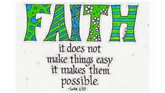 """Luke 1:37 Amplified Bible (AMP) For with God nothing [is or ever] shall be impossible."""""""