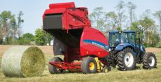 New Holland Rolls Out New Round Baler for 2014