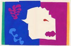 Henri Matisse - The Wolf, from Jazz, 1947