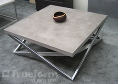 Concrete Tables & Table Tops - Trueform Concrete Custom WorkTrueform Concrete Custom Work
