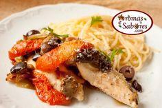 Frango mediterrâneo - Mediteranean Chicken