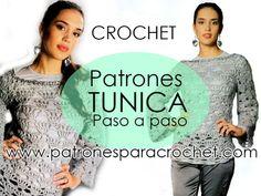 Punto Red Crochet, Filet Crochet, Diy Crochet, Moda Crochet, Crochet Gratis, Tapestry Crochet Patterns, Weaving, Women, Art